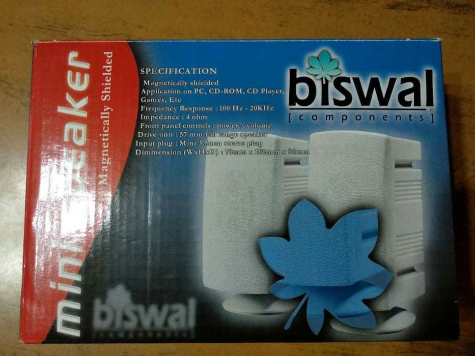 Vendo <strong>parlantes</strong> Biswal