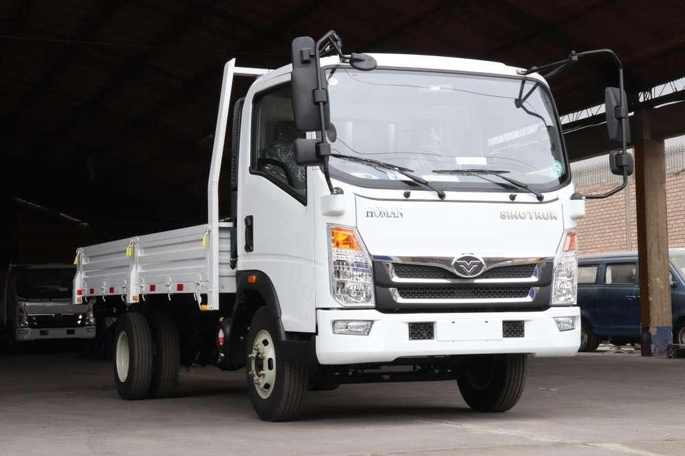 Camión Sinotruk de 6 toneladas CUMMINS 155HP MODELO 2019