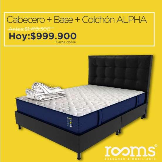 CABECERO BASE CAMA COLCHON