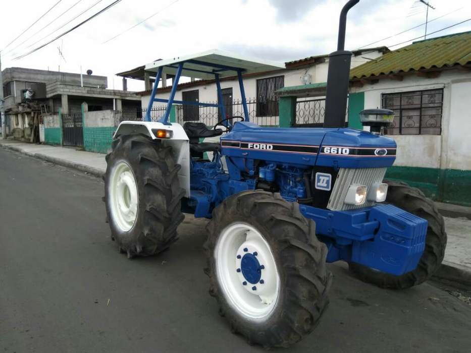 Tractor Agricola Ford 6610 de 1991