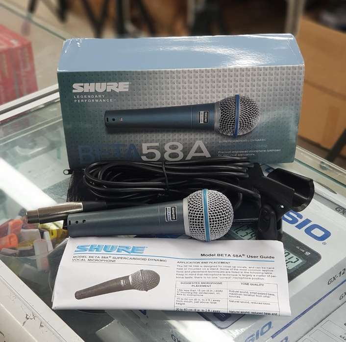 Miceofono Shure Beta 58a Y 57a Full