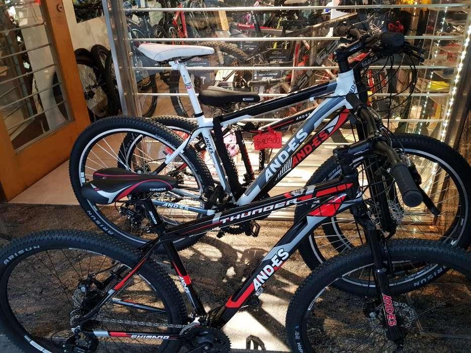 Bici Aluminio 29 Discos Talles Varios