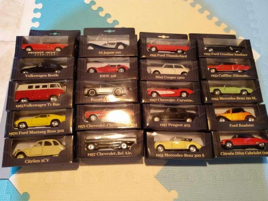 20 Autos Clásicos, Impecables,c/<strong>revistas</strong>