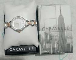 Bello Reloj Caravelle New York Dama