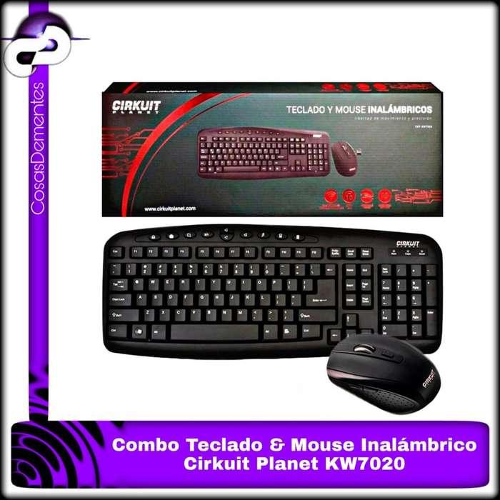 COMBO INALÁMBRICO TECLADO MOUSE CKP-KW7020