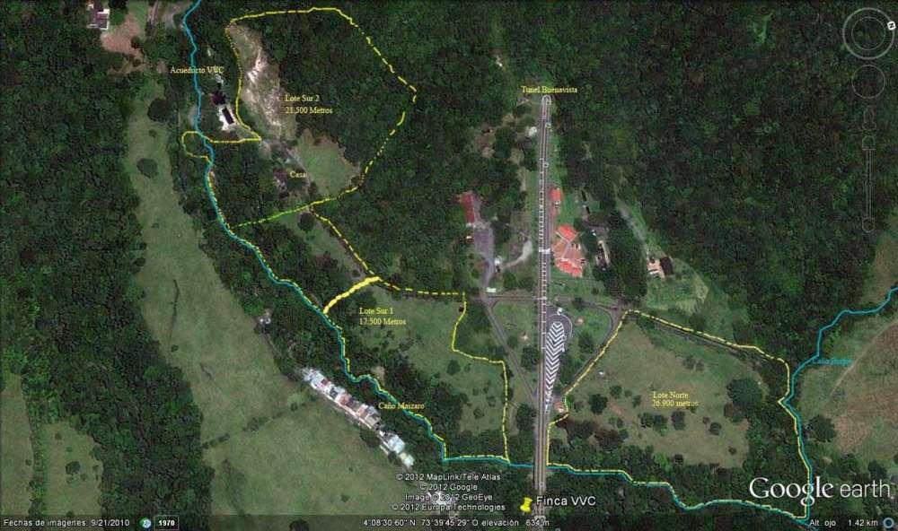 Finca 4 hectareas Villavo a 300 metros del Túnel Buenavista