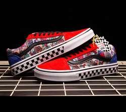 Zapatos Vans Spiderman Avengers Skate