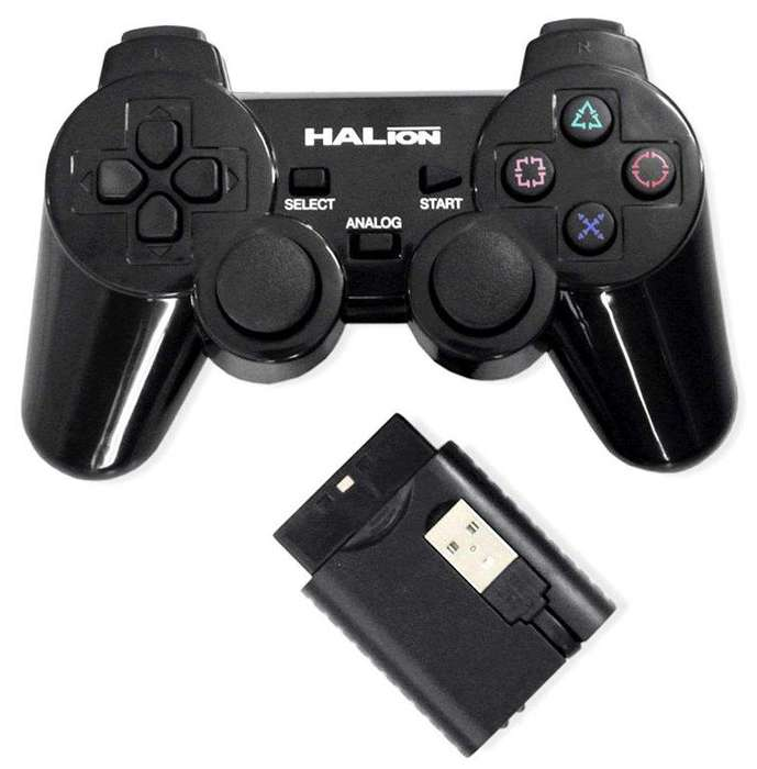 Mandos control gamer ps3 pc inalambricos Halion