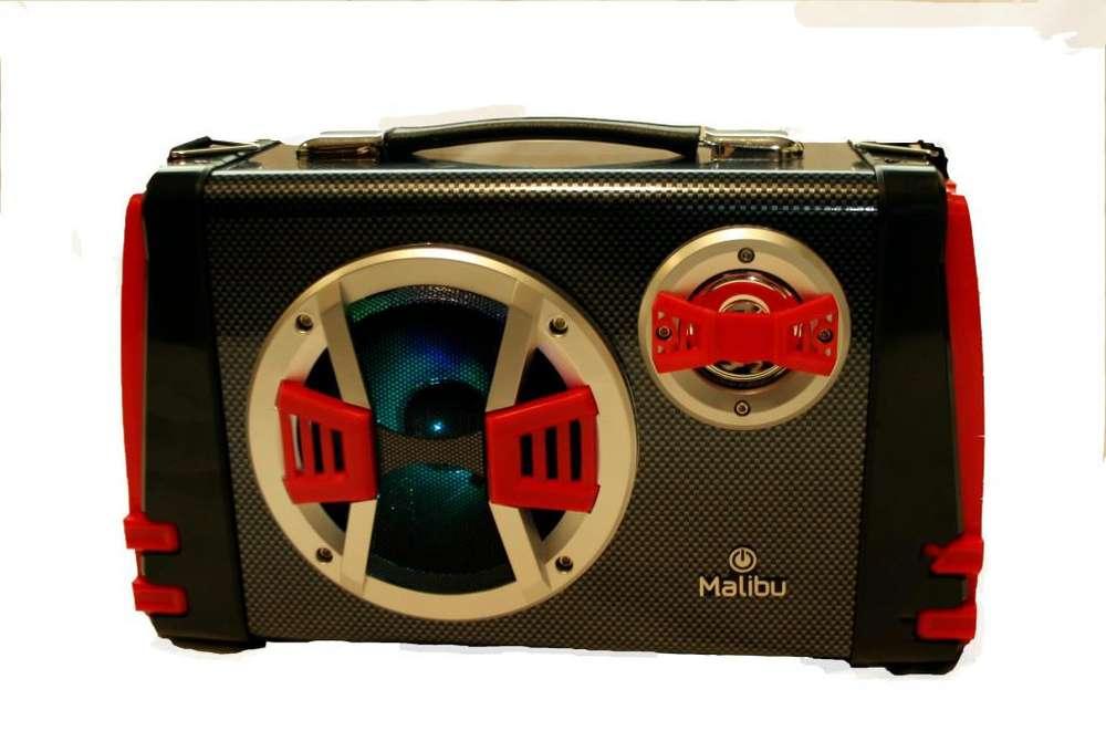 Parlante Malibu <strong>karaoke</strong> Portatil Bk-5100 Bluetooth