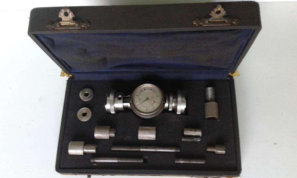 Fleximetro Alesometro para determinar desviación del cigueñal