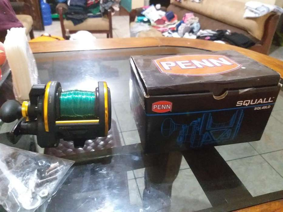 Vendo Carrete D Pesca Penn 40ld Original