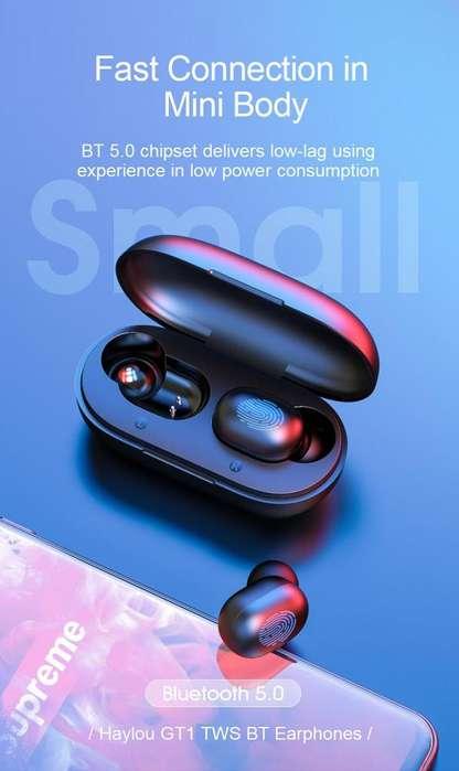 Auriculares Audifonos Haylou Gt1 Bluetooth Nuevos Originales Sellados