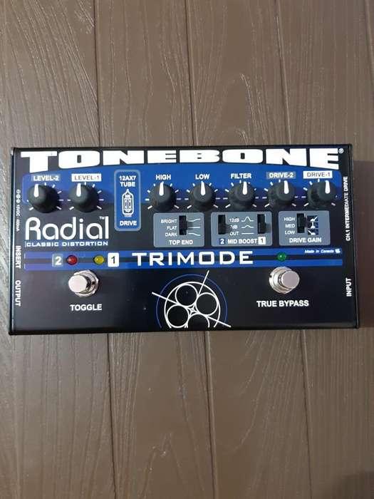 Pedal Distorsion Radial Tonebone Trimode