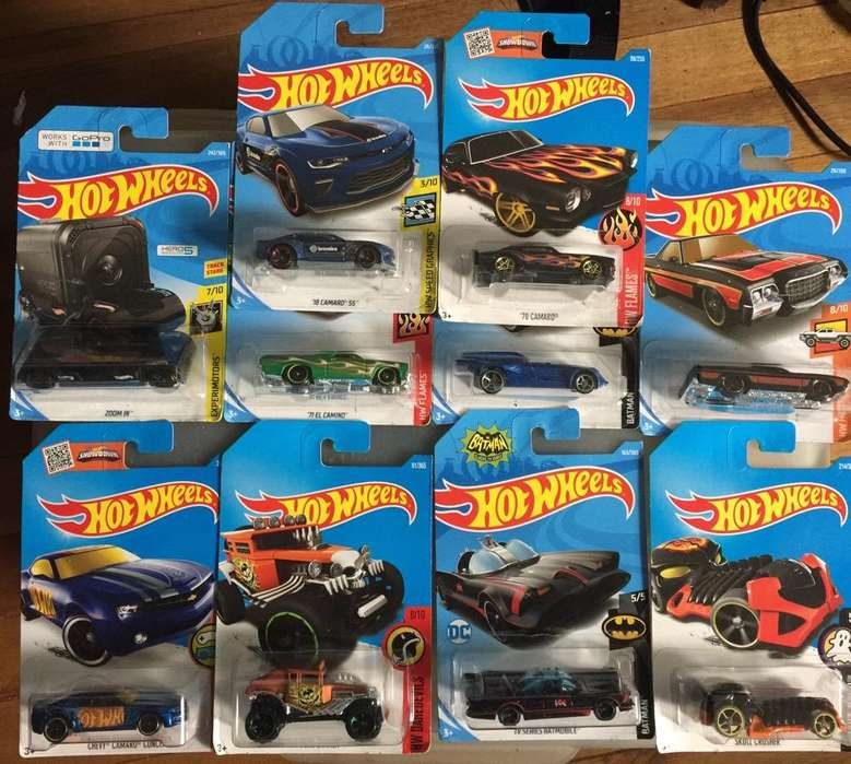Hot Wheels Set 10 Carros