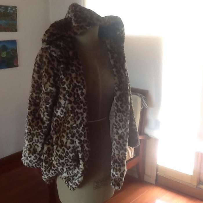 Abrigo Leopardo EPK Talla 12