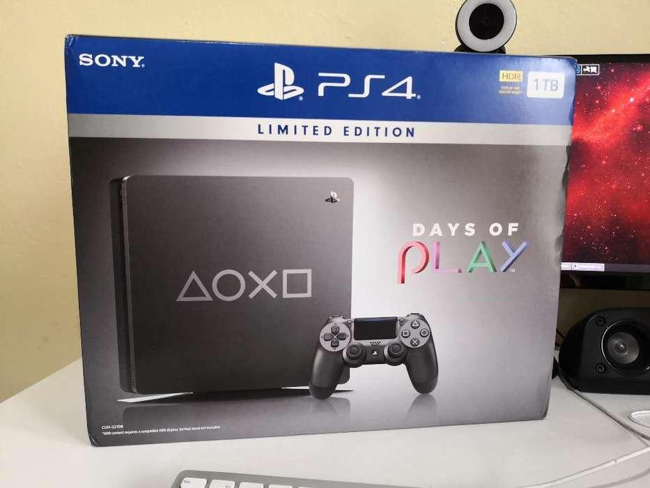 Playstation 4 Slim 1tb Edición Limitada