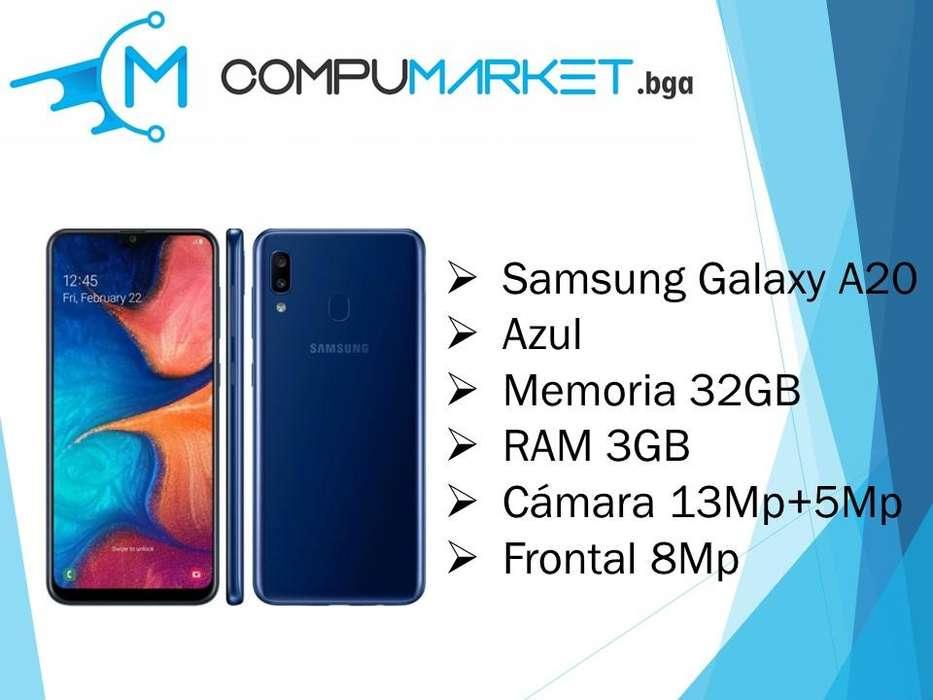 Samsung Galaxy A20 Memoria 32gb RAM 8gb nuevo y facturado