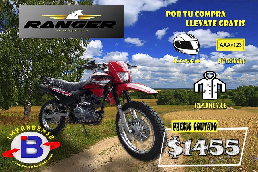 MOTO SANTO DOMINGO//RANGER 200 GY-8-CASCO-MATRICULA-IMPERMEABLE GRATIS//IMPORTADORA BENAVIDES