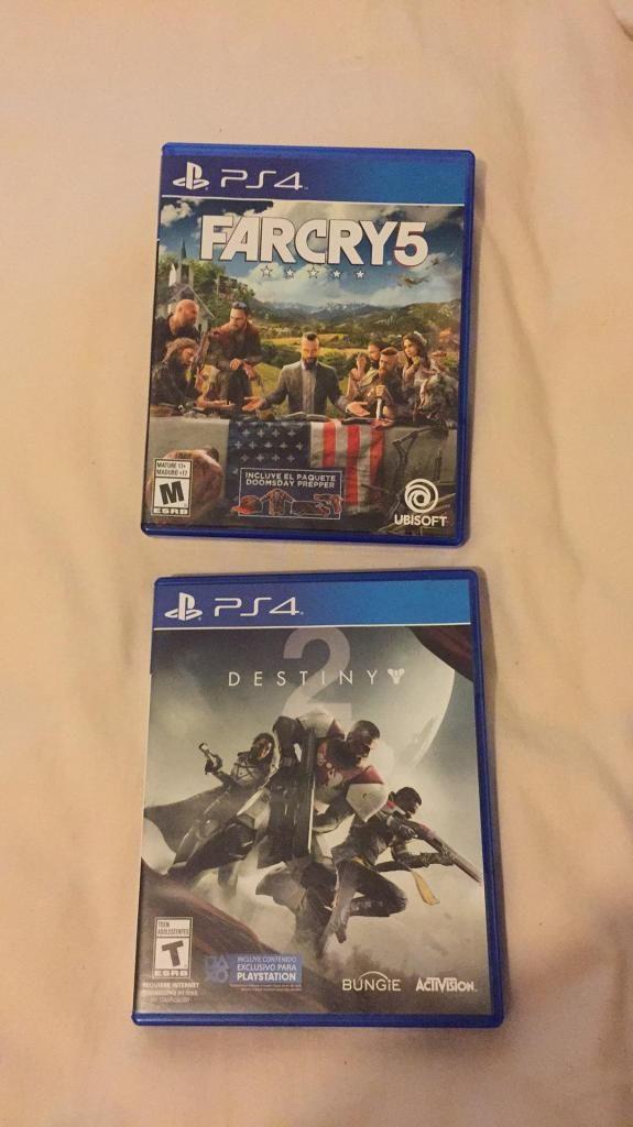 Far Cry 5 y Destiny 2
