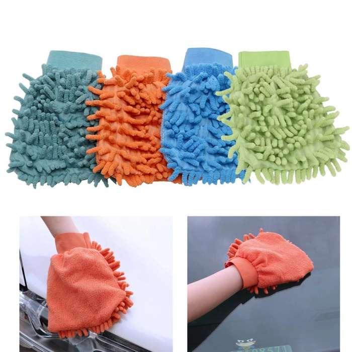 Guante de Microfibra para Limpieza (Entrega a domicilio)