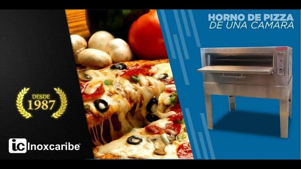 Horno Pizzas Acero Inoxidable Restaurant