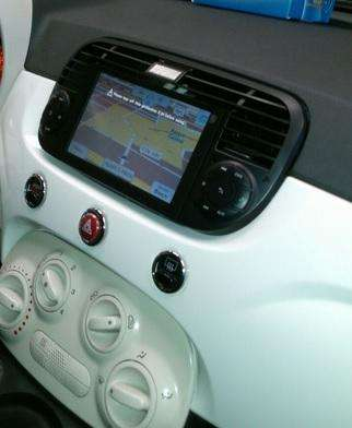 <strong>fiat</strong> 500 Estereo CENTRAL MULTIMEDIA STEREO PANTALLA Gps Android Bluetooth