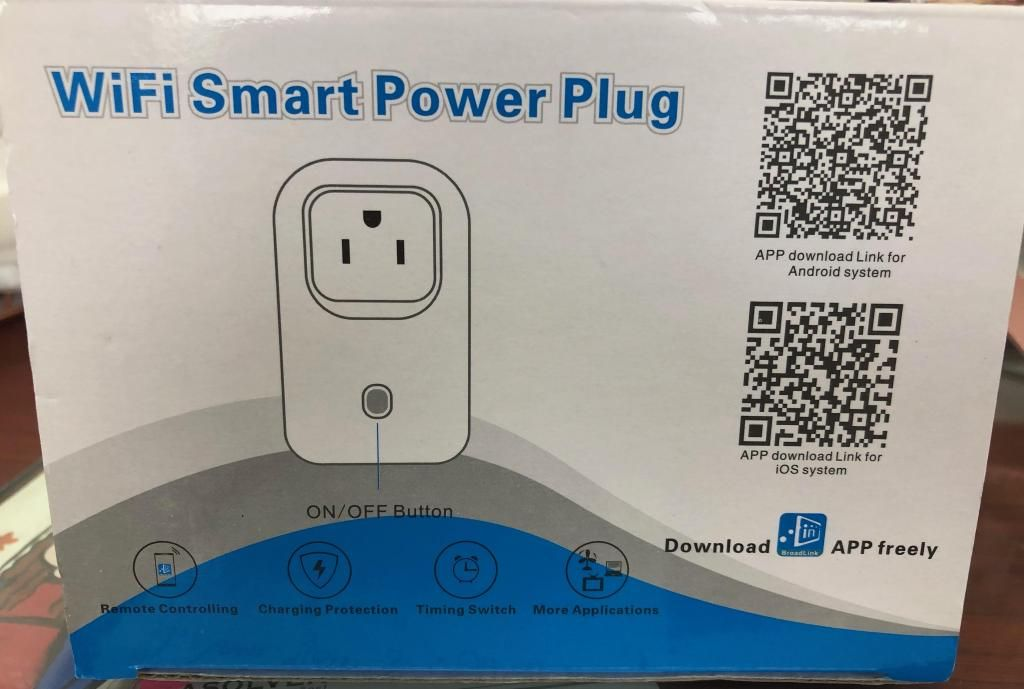 Enchufe Timer Wifi Smart Power Plug Alexa Google