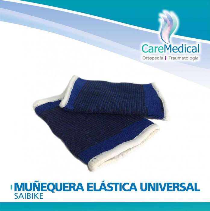 Muñequera Elastica Universal Saibike Ortopedia Care Medical