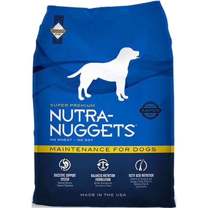 Alimento NUTRA NUGGETS - <strong>perro</strong>