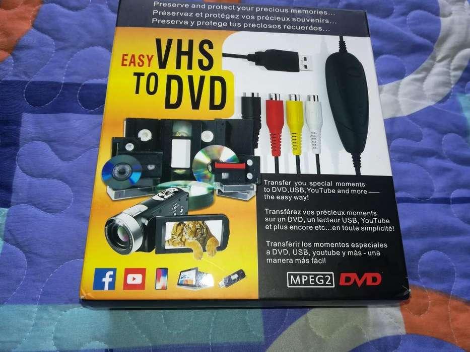 Convertidor Cintas Vhs, Dvd, V8, Beta