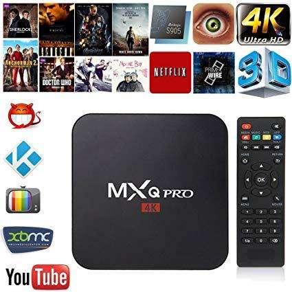 TV BOX MXQ PRO 4 K CONVERTI EL TELE EN SMART TV