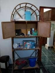 Mueble de Caña Antiguo Buen Estado