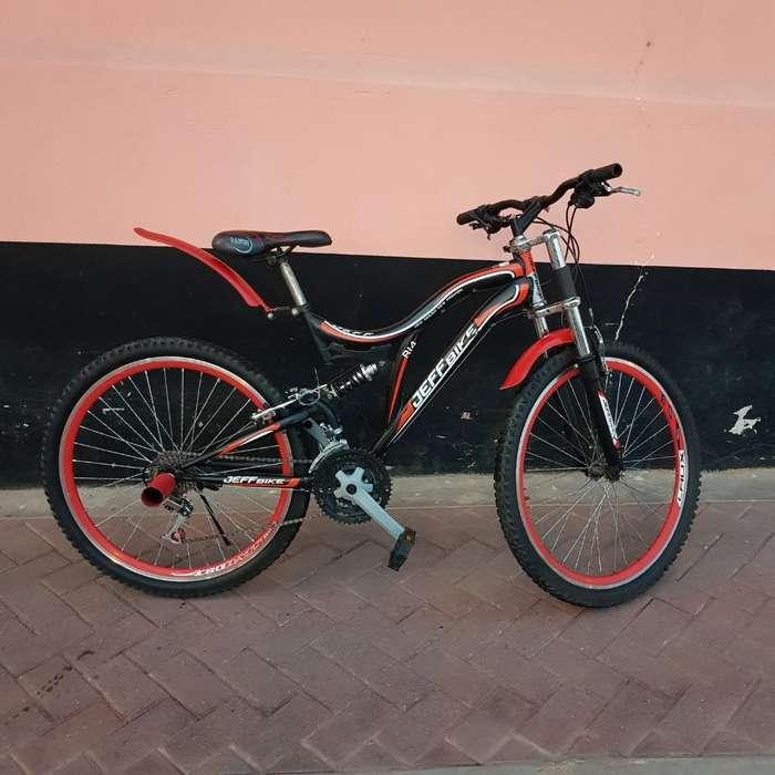 Bicicleta Montañera Doble Suspensión