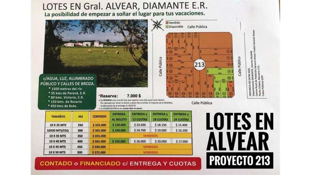 Lotes En Puerto Alvear! Proyecto Manzana 213! 100 - 325.000 - Terreno en Venta
