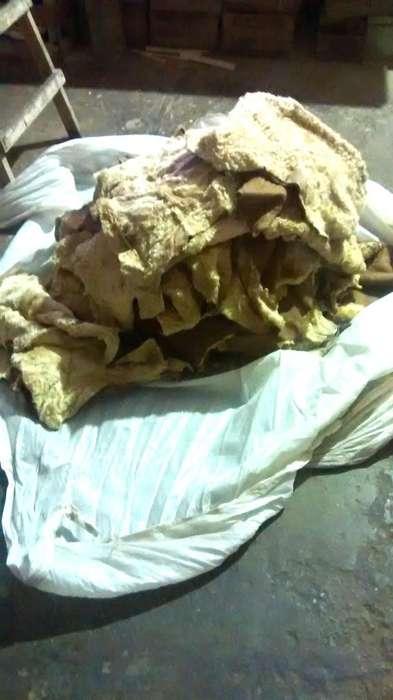 Lote de 44 Pieles de Oveja con Gamuza
