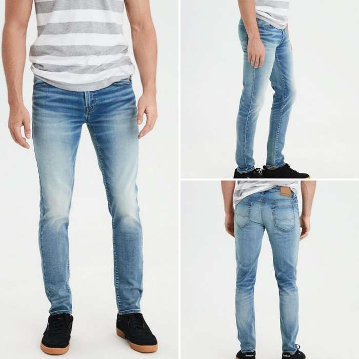 f3e5ba2aa4 Pantalón Jeans American Eagle Talla 32 X 32 Level Flex Para Hombre
