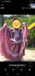 Vestido de cumbia y mexicano