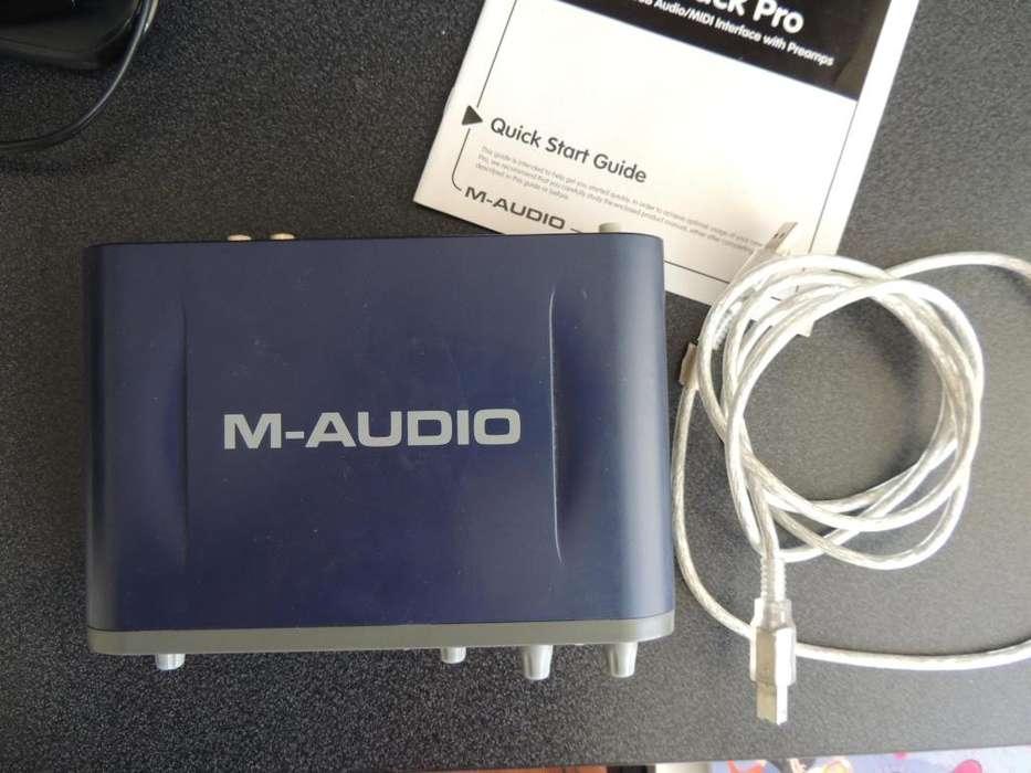 Maudio Fast Track Pro II Negociable