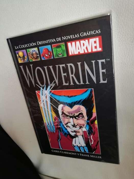 Tomo Wolverine <strong>novela</strong>s Gráficas de Marve
