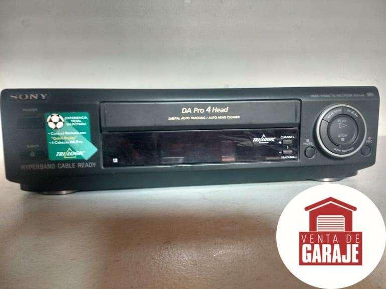 ¡PROMOCIÓN! Reproductor VHS SONY Venta de Garaje Perfecto Estado