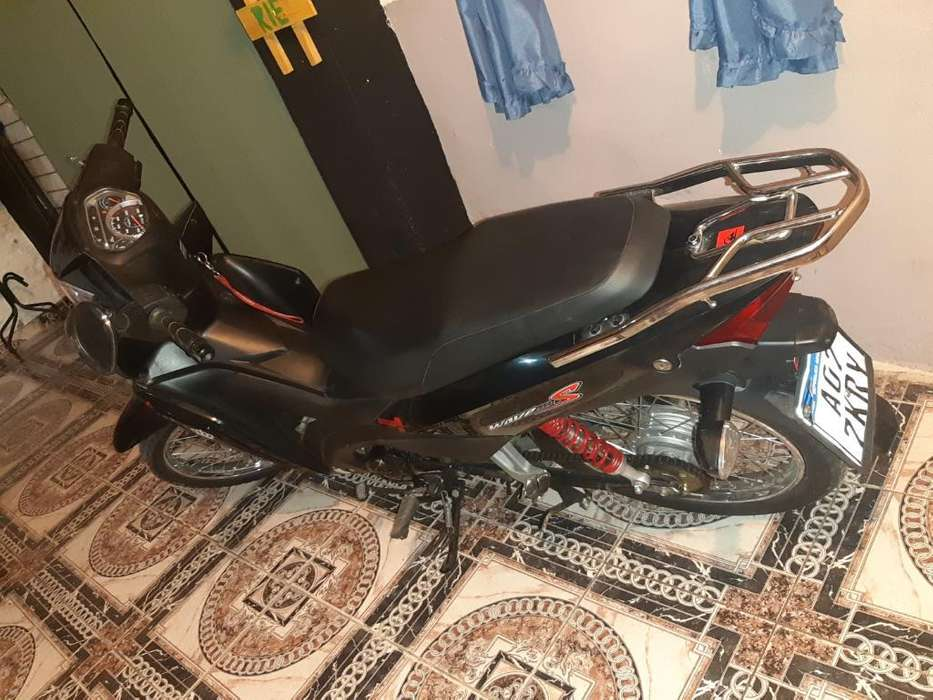 Honda Wave 2018 Impecable 08 Firmado