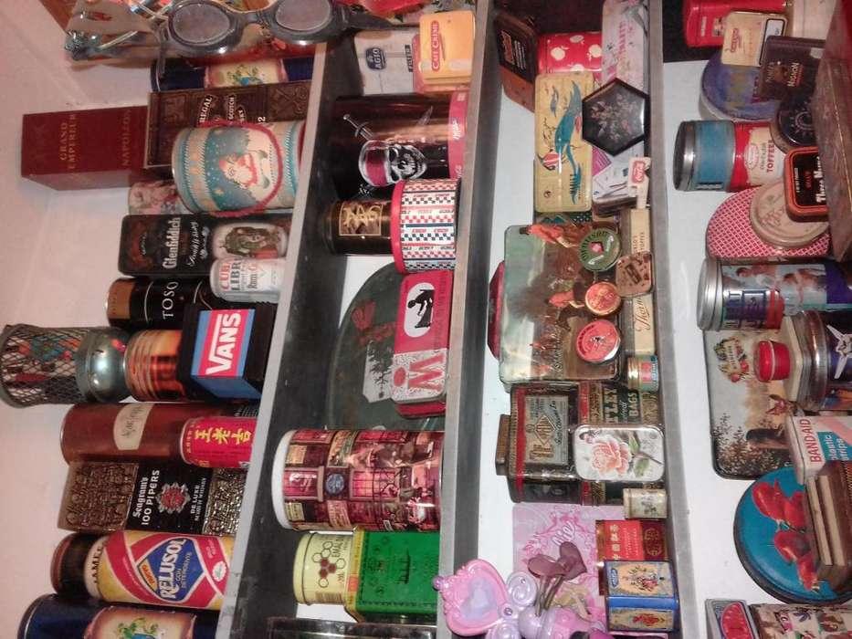 Liquido latas y <strong>caja</strong>s decoracion vintage