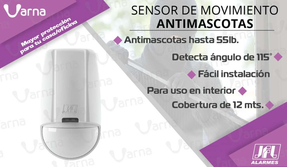 Sensor de movimiento antimascotas