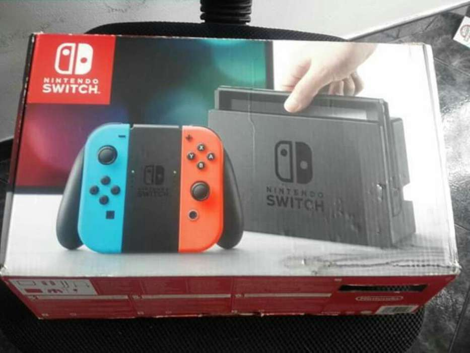 Nintendo Switch 4 Juegos 2 Mandos