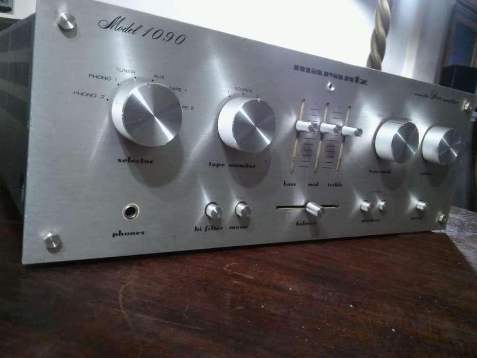 Amplificador Marantz 1090 excelente estado 45w x canal