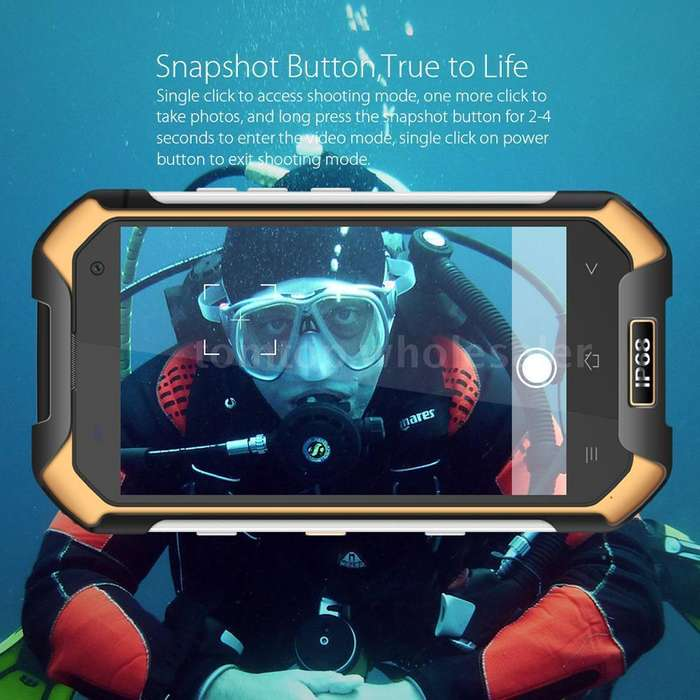 celular sumergible blackview v6000 ip68 dual sim 2 lineas 32gb 8 nucleos anti golpes