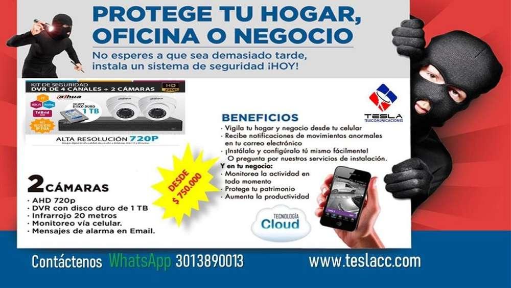 Venta,Instalación Mtto Cámaras De Seguridad en Medellin.Paneles solares