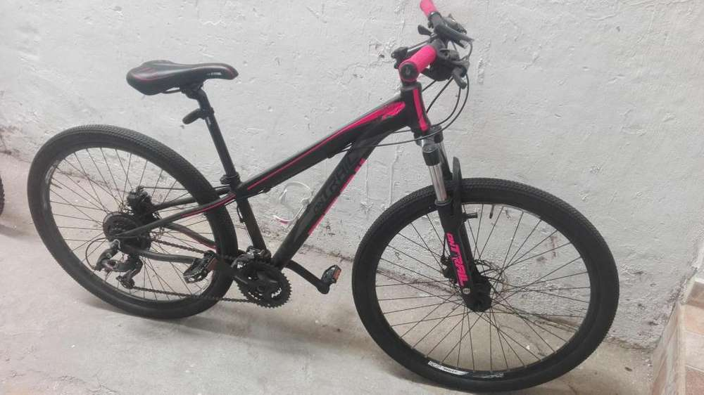 Bicicleta marca ontrail 7 vel freno de disco mecnico