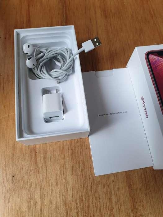 Caja Y Accesorios de iPhone Xr Red