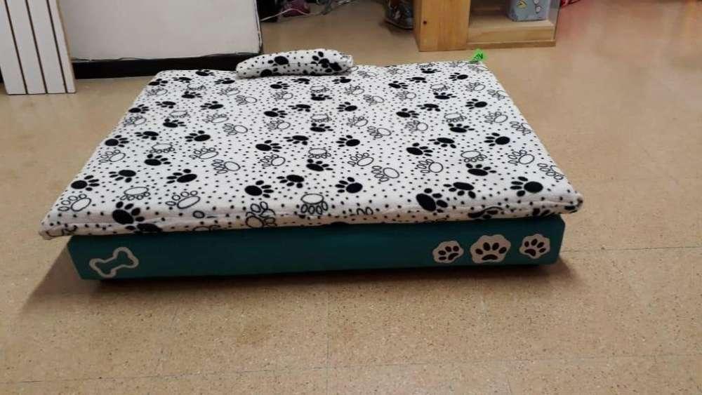 Base cama grande, para perros de razas grandes